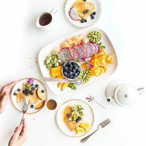 Frauen-Frühstück